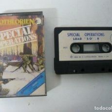 Videojuegos y Consolas: SPECIAL OPERATIONS / JEWEL CASE / MSX / RETRO VINTAGE / CASSETTE - CINTA. Lote 201276462