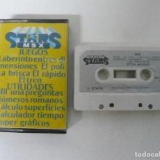Videojuegos y Consolas: STARS MSX / JEWEL CASE / MSX / RETRO VINTAGE / CASSETTE - CINTA. Lote 201276471