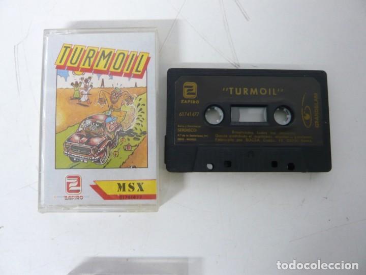 TURMOIL / JEWEL CASE / MSX / RETRO VINTAGE / CASSETTE - CINTA (Juguetes - Videojuegos y Consolas - Msx)