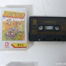 Videojuegos y Consolas: TURMOIL / JEWEL CASE / MSX / RETRO VINTAGE / CASSETTE - CINTA. Lote 201276503