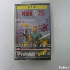Videojuegos y Consolas: XYBOTS / NUEVO - PRECINTADO / JEWEL CASE / MSX / RETRO VINTAGE / CASSETTE - CINTA. Lote 201276535