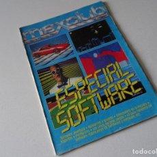 Videojuegos y Consolas: REVISTA MSX CLUB MSXCLUB DE LOS AÑOS 80S ESPECIAL SOFTWARE 8 BITS MICROSOFT MSX2. Lote 203195906