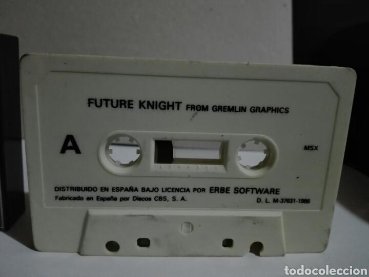 Videojuegos y Consolas: -FUTURE KHIGHT -ERBE -1986- CASSETTE -JUEGO MSX - Foto 3 - 204847933