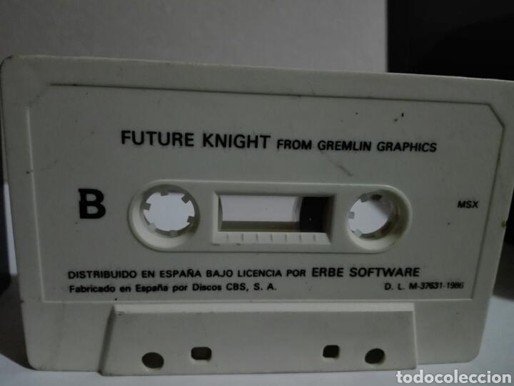 Videojuegos y Consolas: -FUTURE KHIGHT -ERBE -1986- CASSETTE -JUEGO MSX - Foto 6 - 204847933