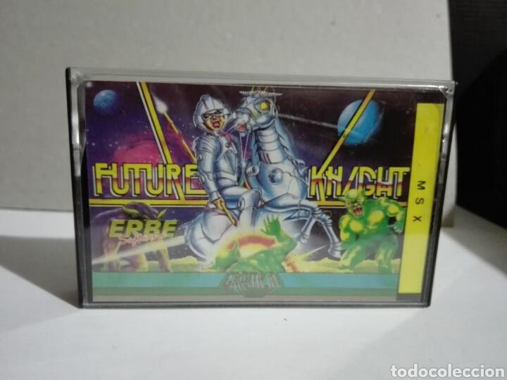 -FUTURE KHIGHT -ERBE -1986- CASSETTE -JUEGO MSX (Juguetes - Videojuegos y Consolas - Msx)