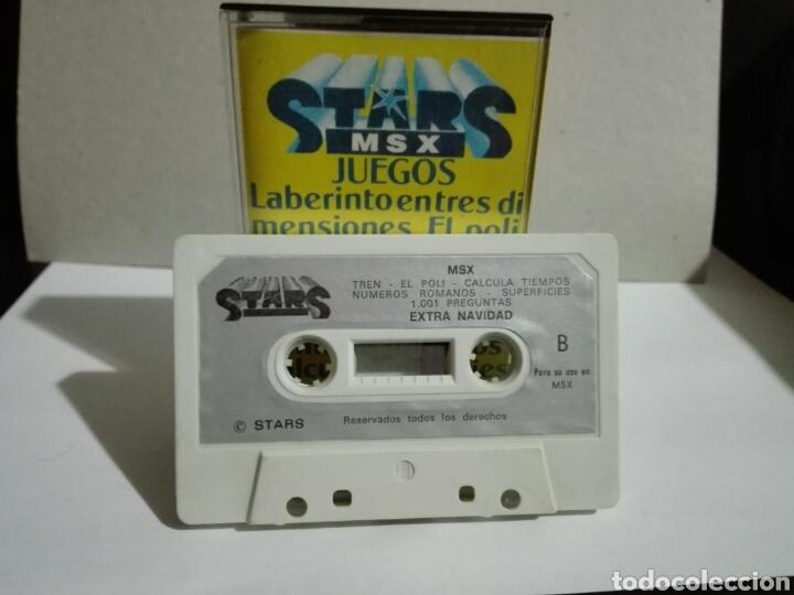 Videojuegos y Consolas: -STAR MSX 4- EXTRA DE NAVIDAD- JUEGO Y UTILIDADES -EN CASSETTE- MSX - Foto 2 - 204847972