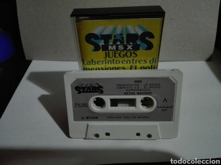 Videojuegos y Consolas: -STAR MSX 4- EXTRA DE NAVIDAD- JUEGO Y UTILIDADES -EN CASSETTE- MSX - Foto 4 - 204847972