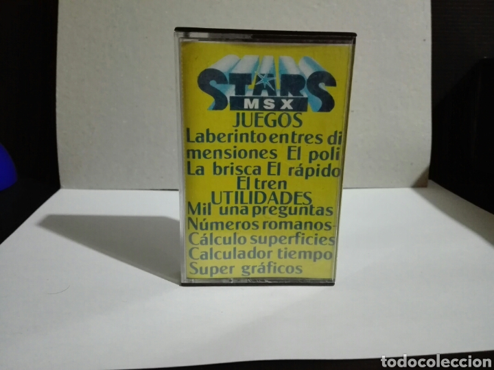 -STAR MSX 4- EXTRA DE NAVIDAD- JUEGO Y UTILIDADES -EN CASSETTE- MSX (Juguetes - Videojuegos y Consolas - Msx)