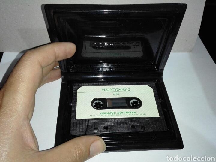 Videojuegos y Consolas: -PHANTOMAS 2 -JUEGO MSX -CASSETTE -1986- DINAMIC - Foto 3 - 204848001
