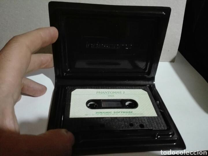 Videojuegos y Consolas: -PHANTOMAS 2 -JUEGO MSX -CASSETTE -1986- DINAMIC - Foto 5 - 204848001