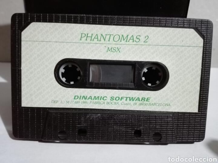 -PHANTOMAS 2 -JUEGO MSX -CASSETTE -1986- DINAMIC (Juguetes - Videojuegos y Consolas - Msx)