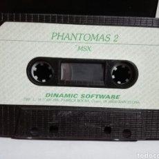 Videojuegos y Consolas: -PHANTOMAS 2 -JUEGO MSX -CASSETTE -1986- DINAMIC. Lote 204848001