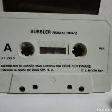 Videojuegos y Consolas: -BUBBLER - JUEGO MSX -CASSETTE ERBE 1987. Lote 204848027