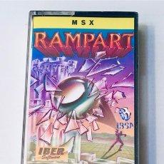 Videojuegos y Consolas: RAMPART,THE [GENESIS SOFTWARE] 1988 IBSA IBER SOFT [MSX]. Lote 205051163