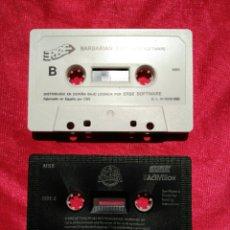 Videojuegos y Consolas: DOS JUEGOS MSX BARBARIÁN 2 /AF TER BURNER. Lote 205118307