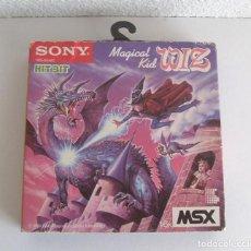 Videojuegos y Consolas: MAGICAL KID WIZ CARTUCHO PARA MSX SOLO ESTUCHE AÑO 1986. Lote 205531565