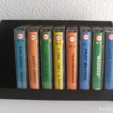 Videojuegos y Consolas: LOTE 8 JUEGOS MSX EN CASETE: LAZER BYKES, MAZIACS, AGENTE ESPECIAL, RUBICK, RANA SIDERAL, KIRIKI.... Lote 205537047