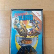 Videojuegos y Consolas: JUEGO FORMATO CASSETTE MSX MSX2 SPEED KING MASTERTRONIC FUNCIONANDO PERFECTO. Lote 205655221