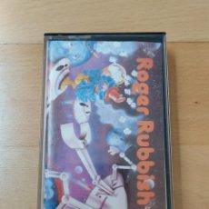 Videojuegos y Consolas: JUEGO FORMATO CASSETTE MSX MSX2 ROGER RUBBISH SPECTRAVIDEO FUNCIONANDO PERFECTO. Lote 205655448