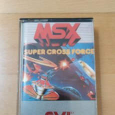 Videojuegos y Consolas: JUEGO FORMATO CASSETTE MSX MSX2 SUPER CROSS FORCE SPECTRAVIDEO FUNCIONANDO PERFECTO. Lote 205655600