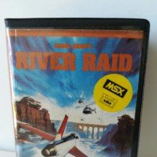 Videojuegos y Consolas: JUEGO MSX CASSETTE RIVER RAID (ACTIVISION, 1984). Lote 205884072