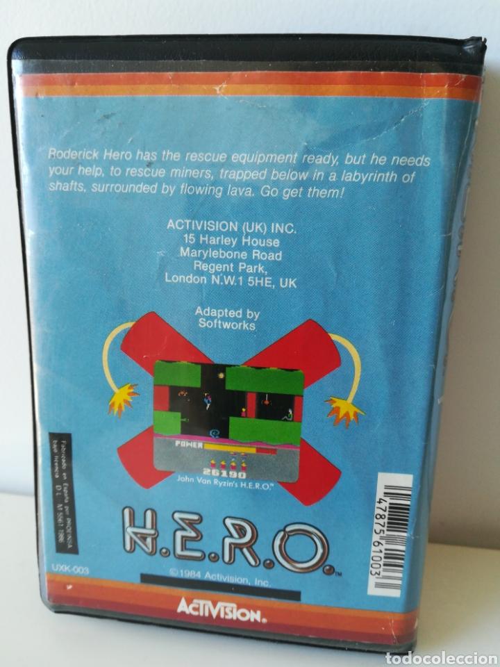 Videojuegos y Consolas: Juego MSX cassette H.E.R.O. Hero (Activision, 1984) - Foto 2 - 246316705