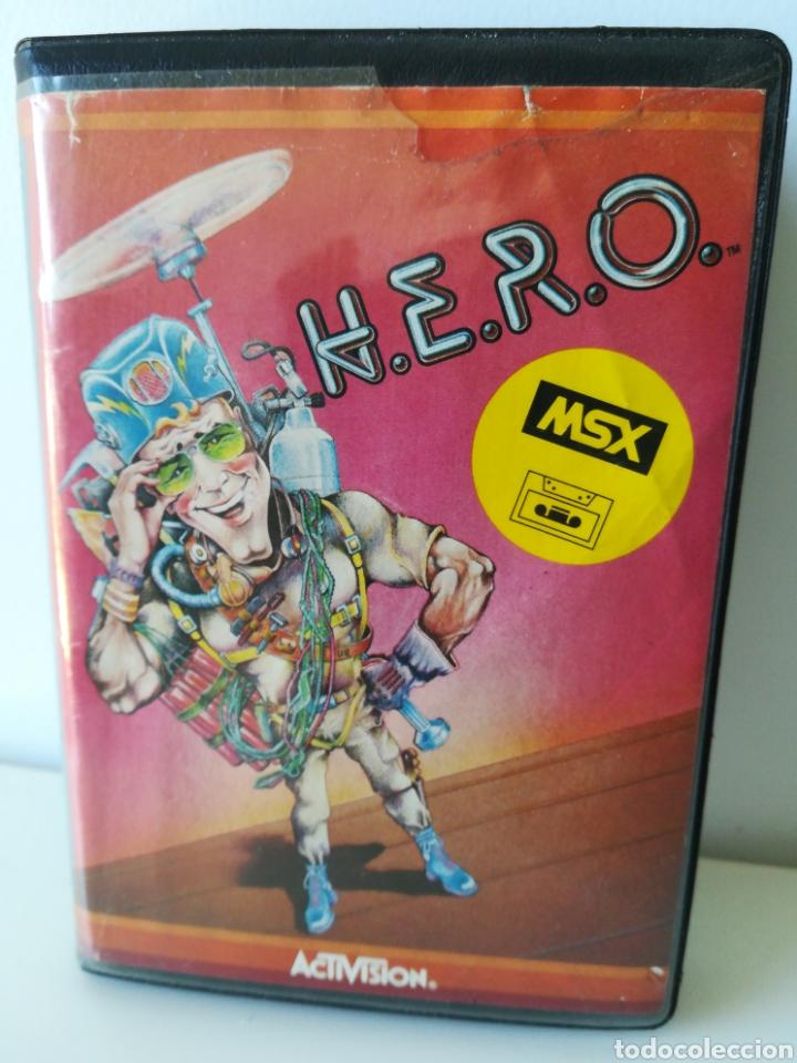 JUEGO MSX CASSETTE H.E.R.O. HERO (ACTIVISION, 1984) (Juguetes - Videojuegos y Consolas - Msx)