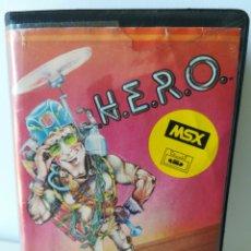 Videojuegos y Consolas: JUEGO MSX CASSETTE H.E.R.O. HERO (ACTIVISION, 1984). Lote 205884466