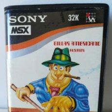 Videojuegos y Consolas: JUEGO MSX BILLAR AMERICANO HUSTLER (SONY/HIT BIT/HUDSON). Lote 205885038