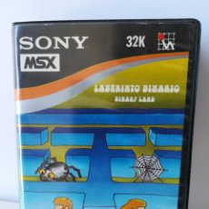 Videojuegos y Consolas: JUEGO MSX CASSETTE LABERINTO BINARIO (SONY/HIT BIT/HUDSON). Lote 205885493