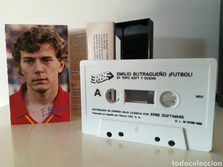 Videojuegos y Consolas: Juego MSX casete Emilio Butragueño ¡Fútbol! (Topo/Ocean, 1988) - Foto 4 - 206255280