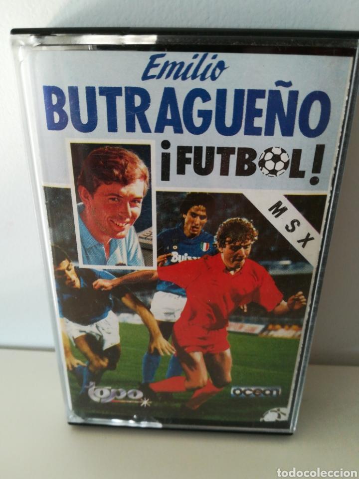 JUEGO MSX CASETE EMILIO BUTRAGUEÑO ¡FÚTBOL! (TOPO/OCEAN, 1988) (Juguetes - Videojuegos y Consolas - Msx)