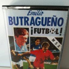 Videojuegos y Consolas: JUEGO MSX CASETE EMILIO BUTRAGUEÑO ¡FÚTBOL! (TOPO/OCEAN, 1988). Lote 206255280
