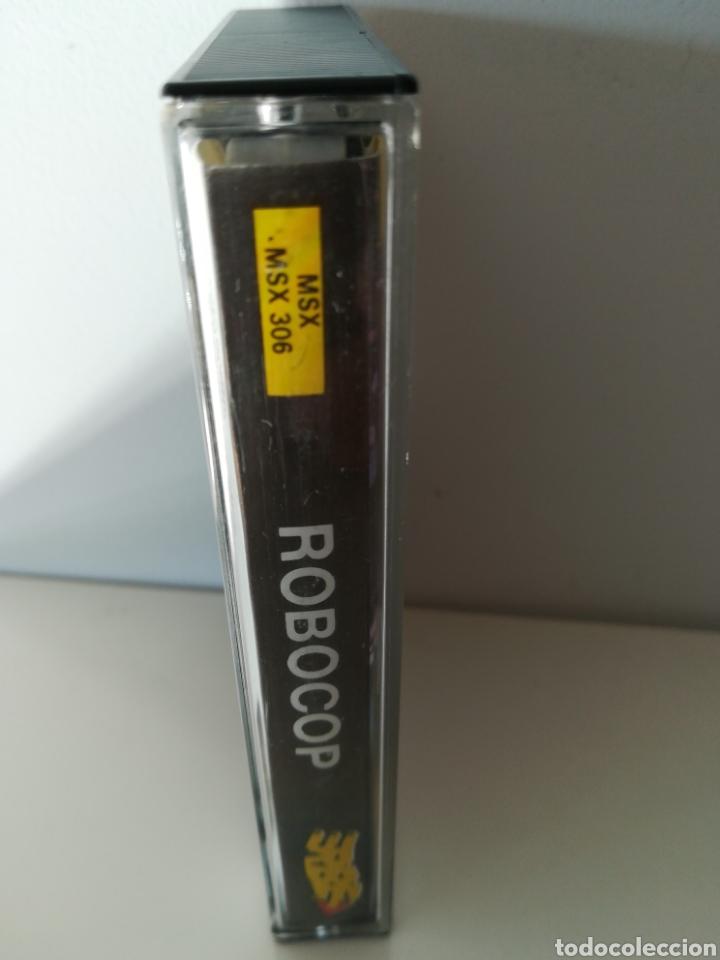 Videojuegos y Consolas: Juego MSX casete Robocop (Erbe/Ocean, 1989) - Foto 3 - 206257292