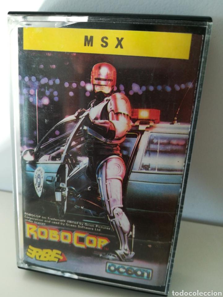 JUEGO MSX CASETE ROBOCOP (ERBE/OCEAN, 1989) (Juguetes - Videojuegos y Consolas - Msx)