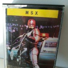 Videojuegos y Consolas: JUEGO MSX CASETE ROBOCOP (ERBE/OCEAN, 1989). Lote 206257292