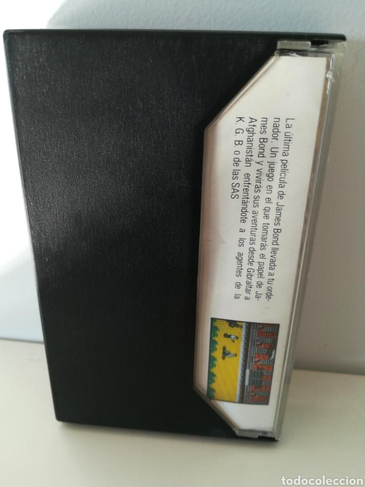 Videojuegos y Consolas: Juego MSX casete James Bond 007 Alta Tensión (Erbe, 1987) - Foto 2 - 206258927