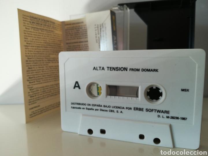 Videojuegos y Consolas: Juego MSX casete James Bond 007 Alta Tensión (Erbe, 1987) - Foto 4 - 206258927