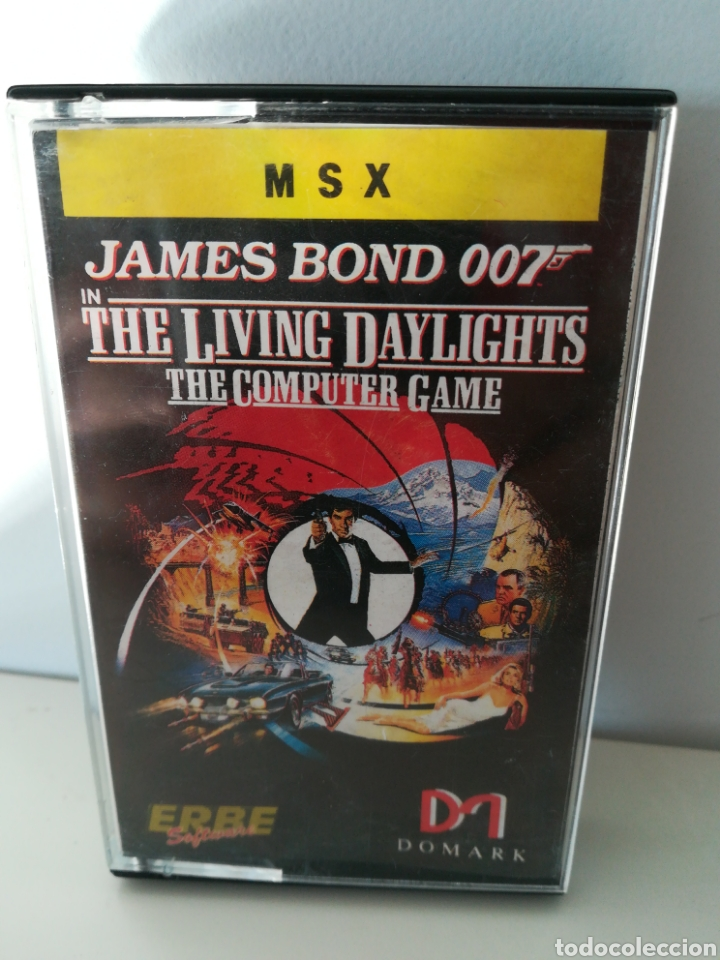 JUEGO MSX CASETE JAMES BOND 007 ALTA TENSIÓN (ERBE, 1987) (Juguetes - Videojuegos y Consolas - Msx)