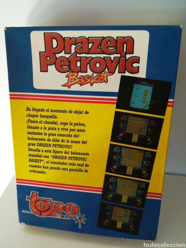 Videojuegos y Consolas: Juego MSX casete Drazen Petrovic (Topo Soft, 1989) - Foto 2 - 206260790
