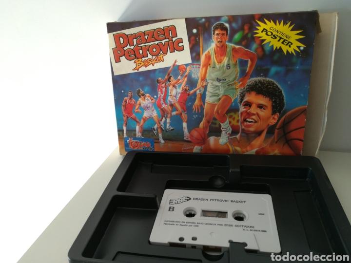 Videojuegos y Consolas: Juego MSX casete Drazen Petrovic (Topo Soft, 1989) - Foto 3 - 206260790