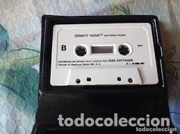 AMSTRAD - JUEGO CASSETTE - DONKEY KONG - ERBE / OCEAN - 1987 - - IMPECABLE (Juguetes - Videojuegos y Consolas - Msx)