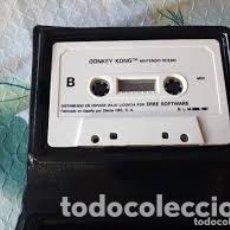 Videojuegos y Consolas: AMSTRAD - JUEGO CASSETTE - DONKEY KONG - ERBE / OCEAN - 1987 - - IMPECABLE. Lote 206563263