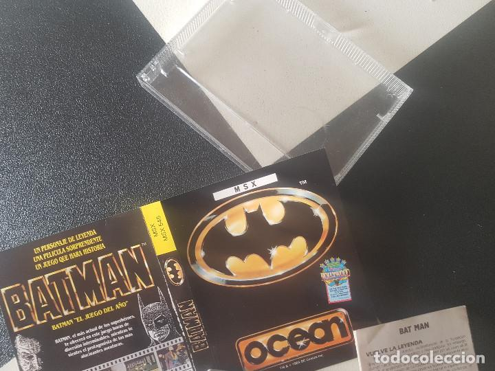 Videojuegos y Consolas: JUEGOS PARA SONY MSX HIT BIT HB-75B BATMAN AÑOS 80 CASSETTE ORIGINAL - Foto 3 - 206815708