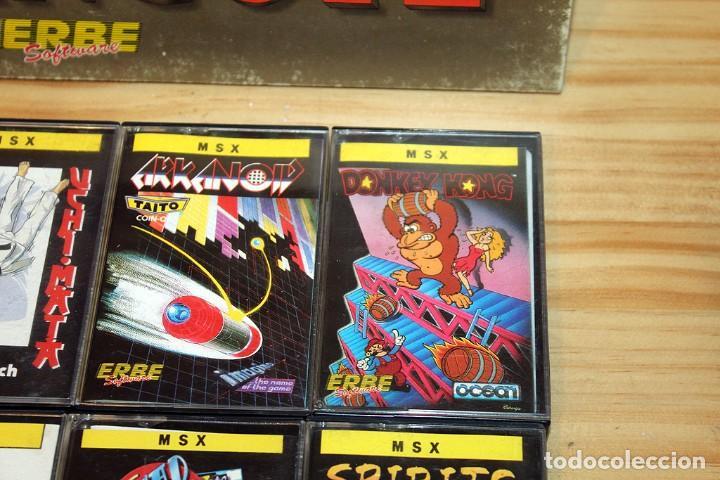 Videojuegos y Consolas: EL LINGOTE - MSX - COMPLETO - ERBE SOFTWARE - TOPO SOFT - OCEAN - US GOLD - 10 JUEGOS - Foto 3 - 206847336