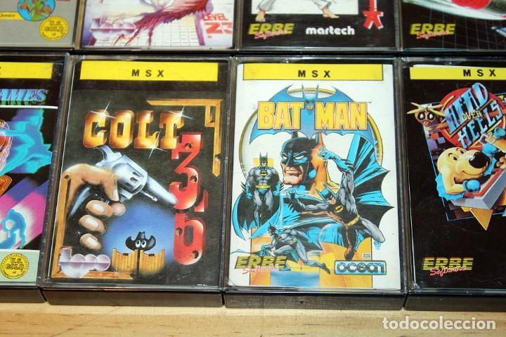 Videojuegos y Consolas: EL LINGOTE - MSX - COMPLETO - ERBE SOFTWARE - TOPO SOFT - OCEAN - US GOLD - 10 JUEGOS - Foto 5 - 206847336
