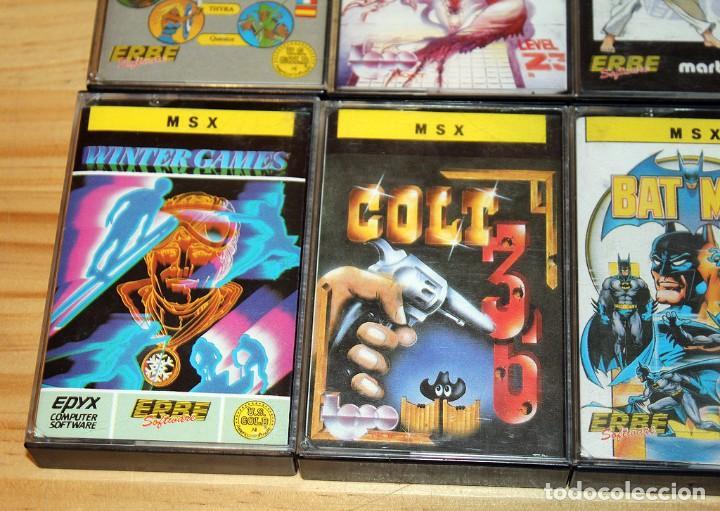 Videojuegos y Consolas: EL LINGOTE - MSX - COMPLETO - ERBE SOFTWARE - TOPO SOFT - OCEAN - US GOLD - 10 JUEGOS - Foto 6 - 206847336