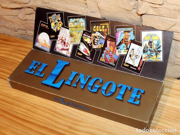 Videojuegos y Consolas: EL LINGOTE - MSX - COMPLETO - ERBE SOFTWARE - TOPO SOFT - OCEAN - US GOLD - 10 JUEGOS - Foto 9 - 206847336