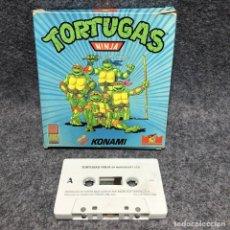Videojuegos y Consolas: TORTUGAS NINJA MSX. Lote 207086467