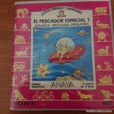 Videojuegos y Consolas: EL PESCADOR ESPACIAL 1 MSC SONY ANAYA COMPLETO. Lote 207221153